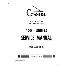 Cessna 100 Series Shop Service Repair Manual 1962 and Prior