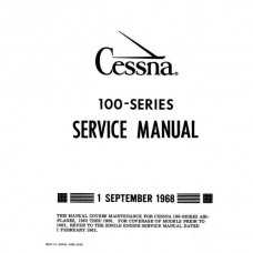 Cessna 100 Series Shop Service Repair Manual 1968