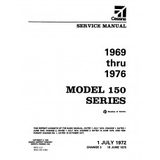 Cessna 150 Series D971-3-13 Shop Service Repair Manual 1969 thru 1976