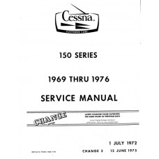 Cessna 150 Series Shop Service Repair Manual 1969 - 1976