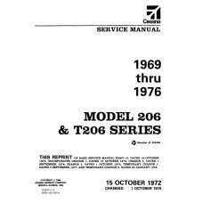 Cessna 206 and T206 Series Shop Service Repair Manual 1969 thru 1976