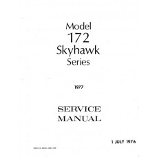 Cessna 172 Skyhawk Series Shop Service Repair Manual 1976 1977