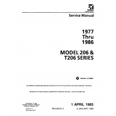 Cessna 206 and T206 Series Shop Service Repair Manual 1977 thru 1986
