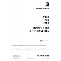 Cessna R182 and TR182 Series Shop Service Repair Manual 1978 thru 1986