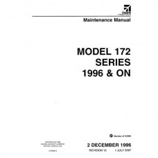 Cessna 172 Series Aircraft Maintenance Manual 1996 and ON Revision 2007
