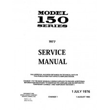 Cessna 150 Series Shop Service Manual 1976 thru 1977 Revised 1995