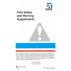 Cessna Pilot Safety and Warning Supplements Manual 1985 - 1998