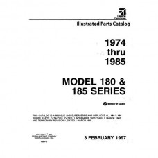 Cessna 180 and 185 Series Parts Catalog 1974 thru 1985 Revised 1997