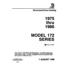 Cessna 172 Series Parts Catalog 1975 thru 1986 Revised 1996