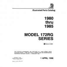 Cessna 172RG Series Parts Catalog 1980 thru 1985 Revised 1996