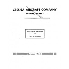 Cessna 190 and 195 Series Parts Catalog 1954