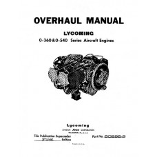 Lycoming 60298-3 Aircraft Engines Repair Overhaul Manual