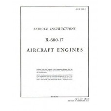 Lycoming R-680-17 Aircraft Engines Service Repair Manual 1944