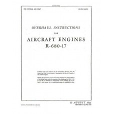 Lycoming R-680-17 Aircraft Engines Repair Overhaul Manual 1944 1945