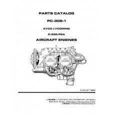 Lycoming O-235-P2A Aircraft Engines PC-302-1 Parts Catalog 1985