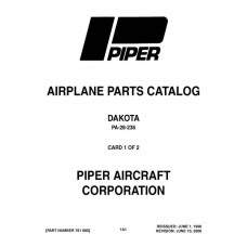 Piper Dakota PA-28-236 761-680 Parts Catalog 2006