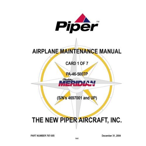 piper malibu meridian pa 46 500tp 767 005 airplane service rh aircraftdownloadmanuals com Piper Malibu Turboprop Piper McLean