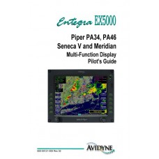 Piper PA34, PA46 Seneca V and Meridian Entegra EX5000 Multi-Function Display Pilots Guide 2005