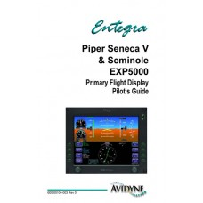 Piper Seneca V and Seminole Entegra EXP5000 Primary Flight Display Pilots Guide 2005